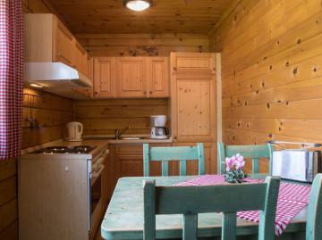 Ferienhaus in Jonsdorf: Küche