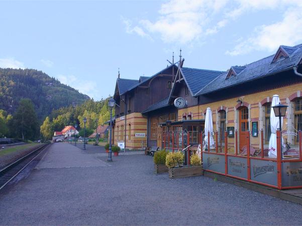 Zittauer Schmalspurbahn: Bahnhof Oybin