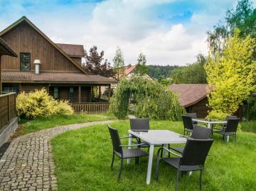 Unterkunft im Zittauer Gebirge: Ferienanlage Jonsberg-Hütten