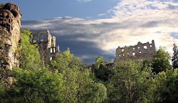 Burg und Kloster Oybin | Klosterruine Oybin
