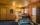 Ferienhaus Jonsdorf: Wohnbereich und Küche