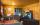 Ferienhaus in Deutschland: Wohnbereich, Blaues Blockhaus